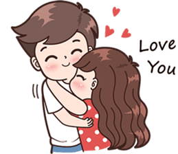 Boobib Cute Couples ( For Girl ) Vol.2 – LINE stickers | LINE STORE