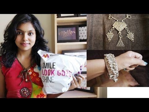 662437b564ed13 Myntra Haul 2017 - Jewelry Haul from Myntra Sale - Accessories from Anouk.  These amazing neck pieces are totally Boho inspired jewelry that came in  sale of ...