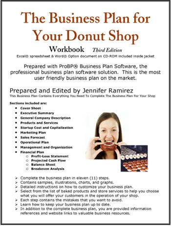 Doughnut shop business plan