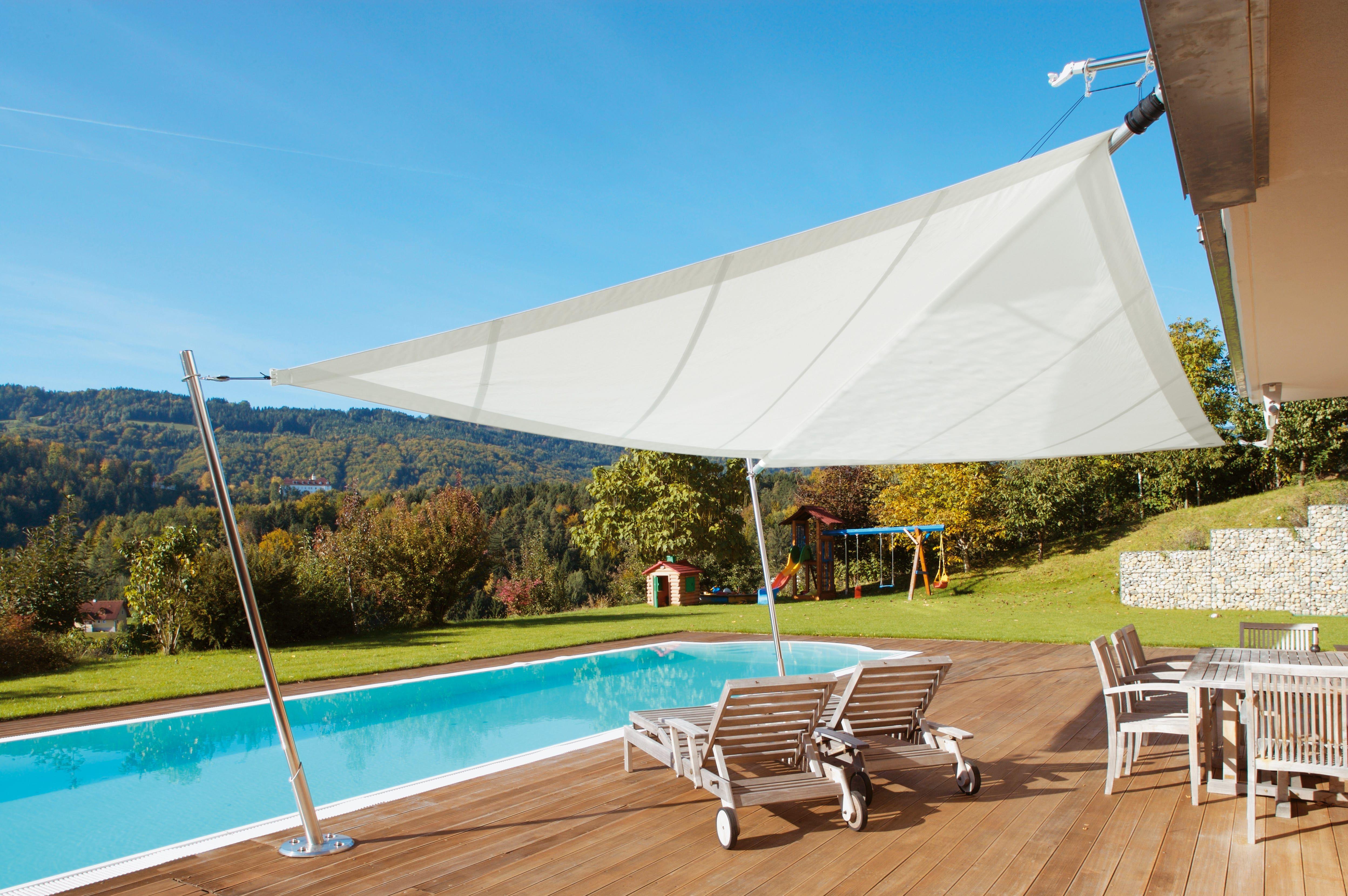 Sunsquare® Sonnensegel - Architektur Für Den Schatten ... Vorteile Sonnensegel Terrasse