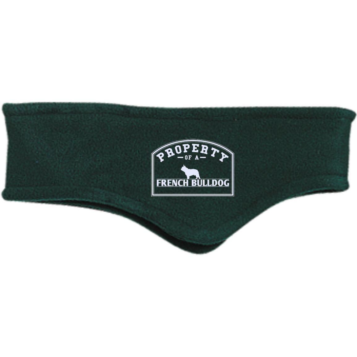 French Bulldog - Property Of A French Bulldog - Fleece Headband