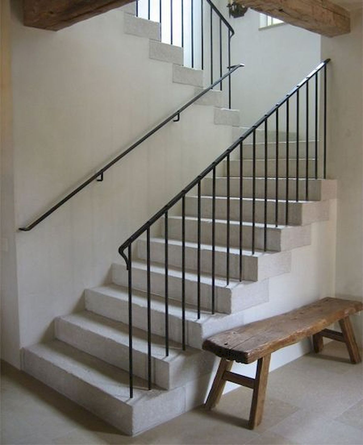 33 Staircase Designs Enriching Modern Interiors With: 33 Ultimate Farmhouse Staircase Decor Ideas And Design