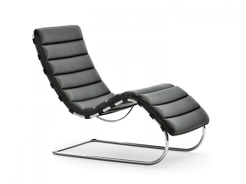 The Timeless Knoll Mr Chaise Longue Is Now Available In This Special Bauhaus Centenary Lounge Chair Design Ludwig Mies Van Der Rohe Mies Van Der Rohe Furniture