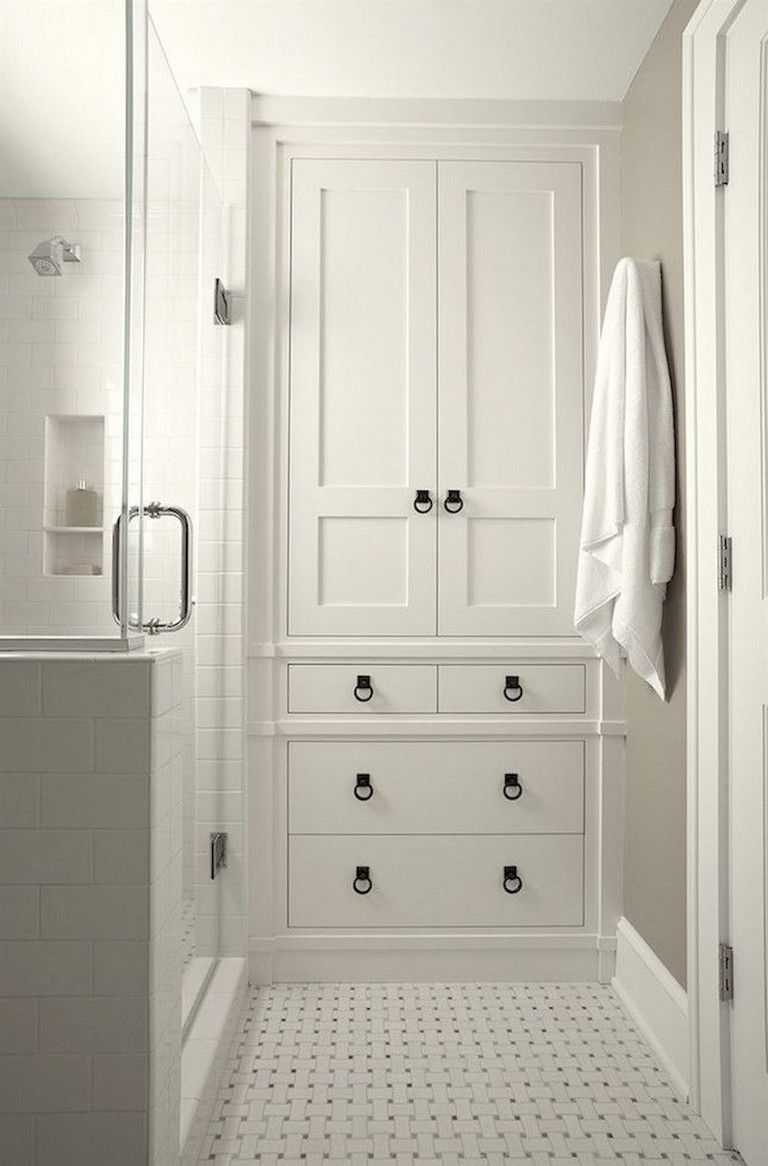 50 Smart Bathroom Cabinet Storage Organization Ideas Bagno