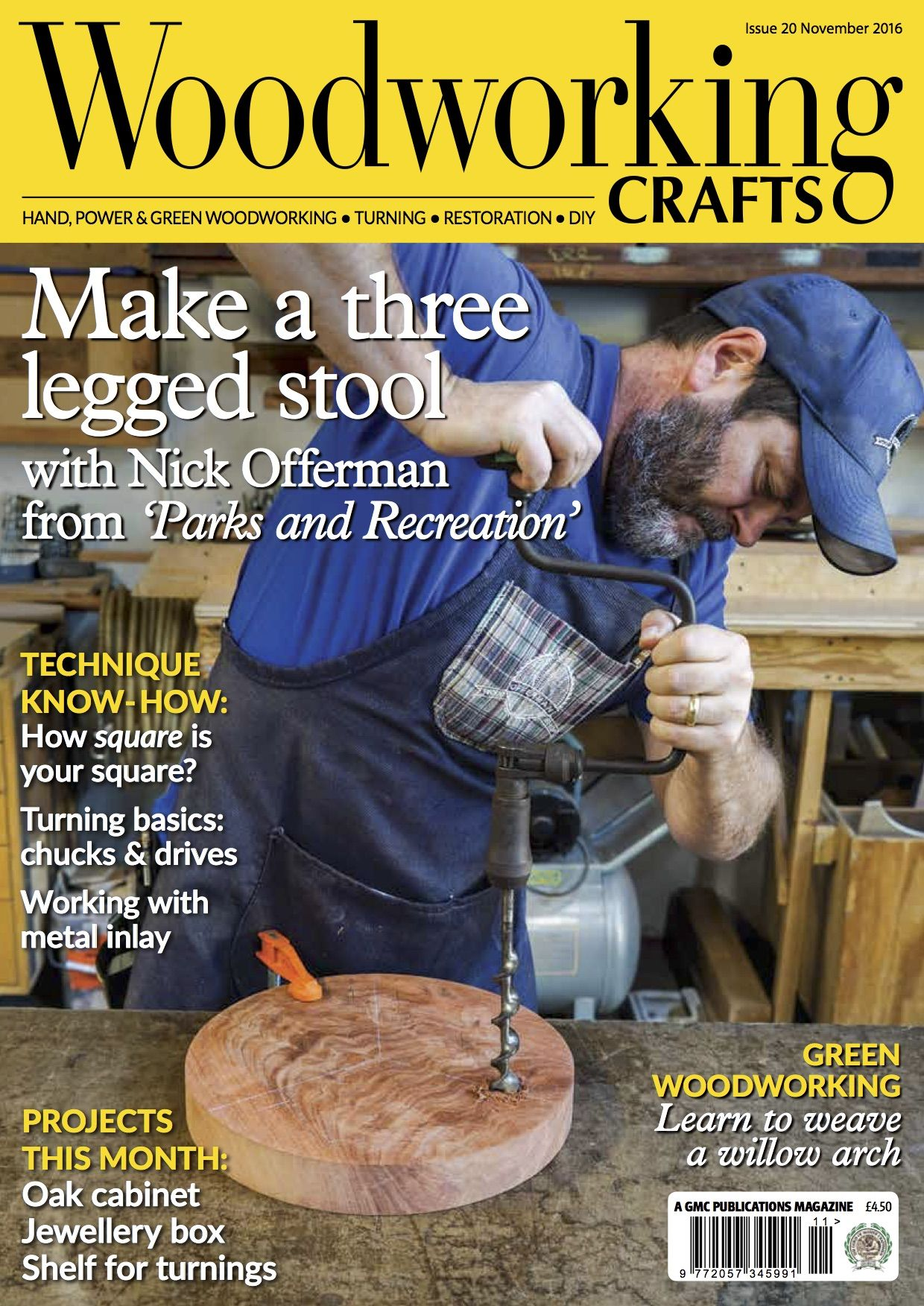 And Here It Is Issue 20 Of Woodworking Crafts On Sale Now At Your