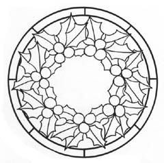 stained glass window templates for christmas - Google Search | 線圖 ...