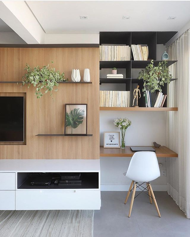 Começando O Dia Com Um Home Office Pequenininho E Super Fofo! Projet