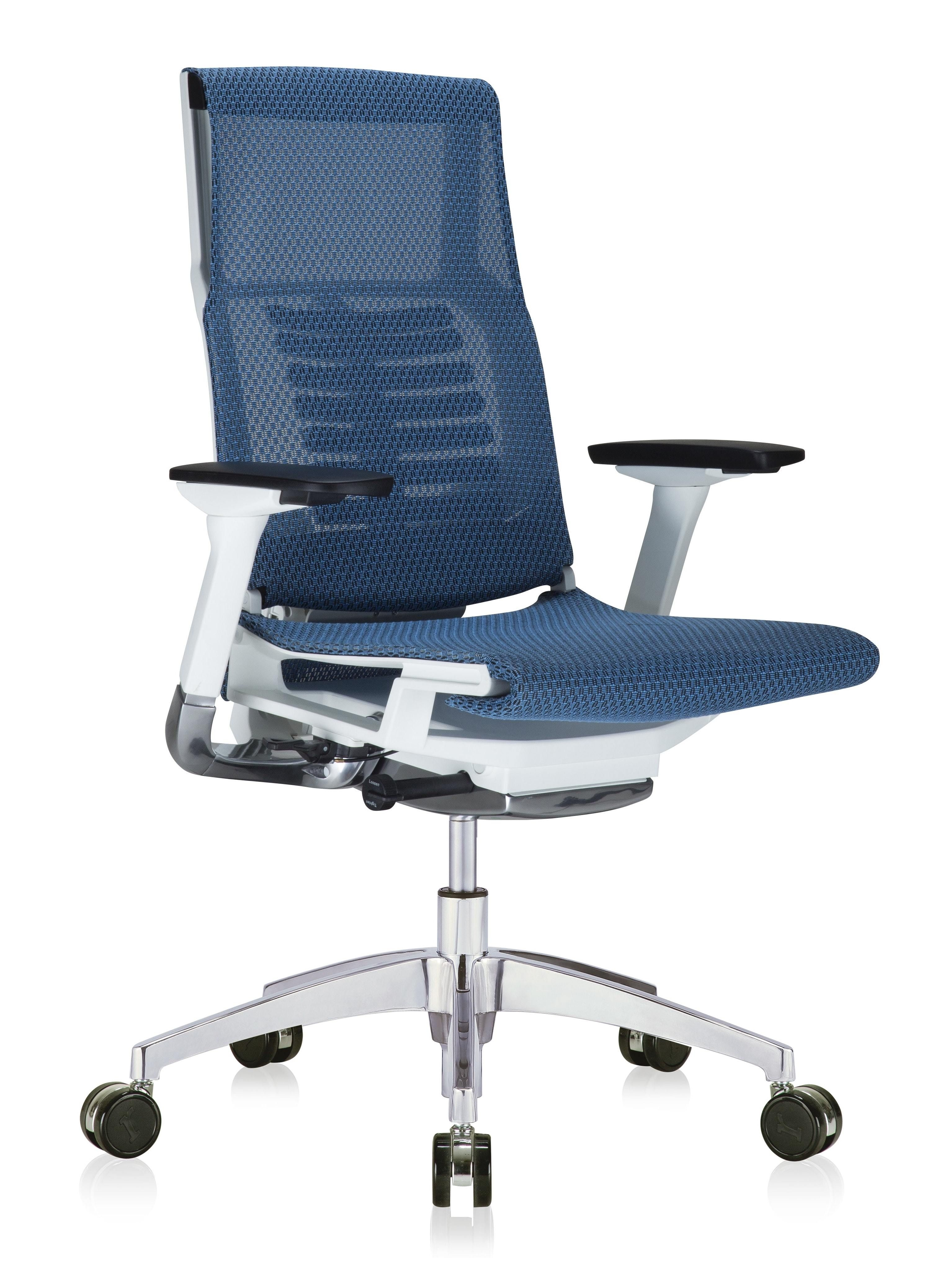 Eurotech powerfit all mesh bionic chair with white frame