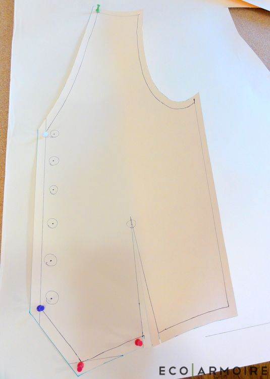 How to Sew a Men\'s Vest | Tutorials, Patterns and Sewing clothes