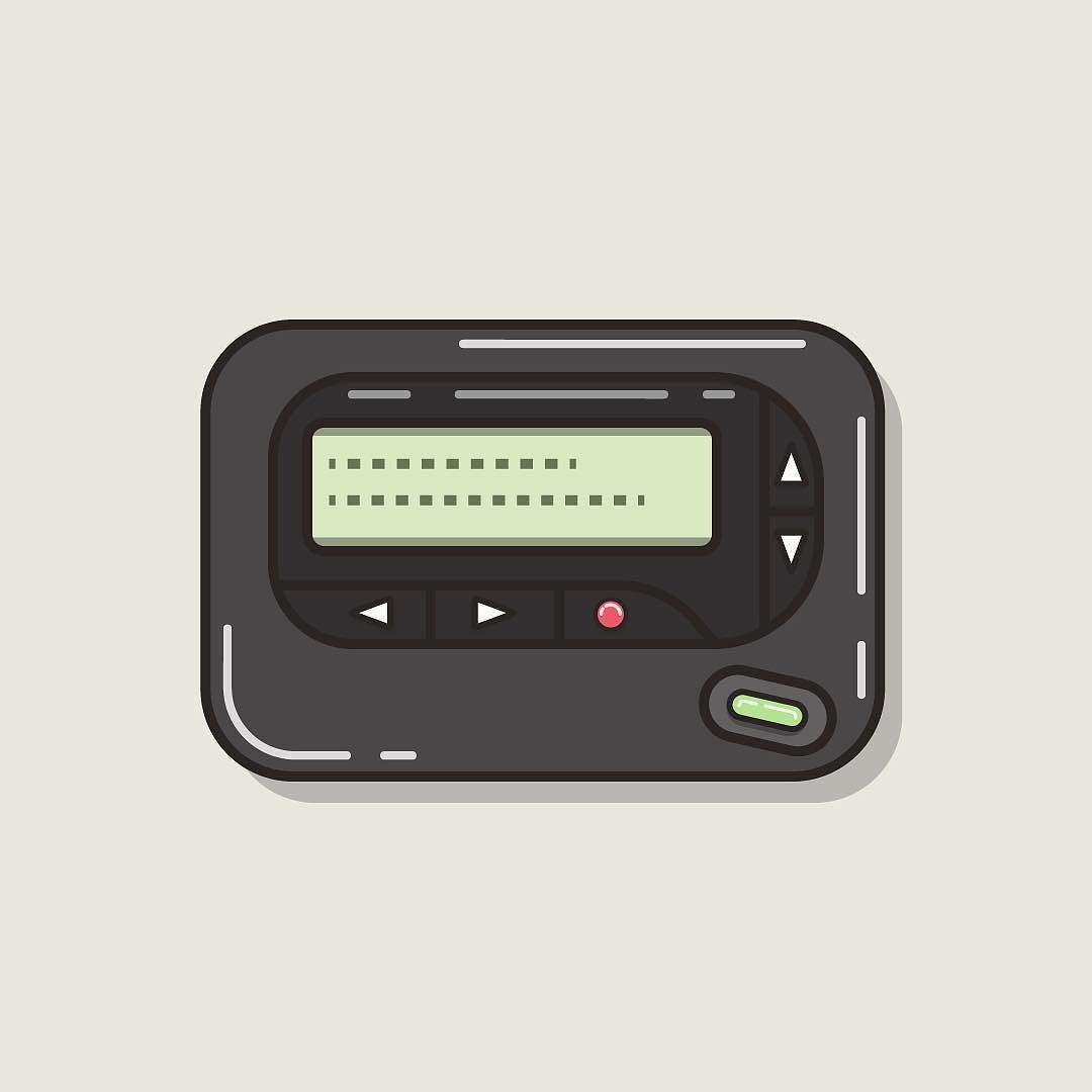Call me  Beep Me.  #beepers #pager #pageme #beepme #tech #lowtech #technology #retro #vintage #graphicdesign #graphicdesigner #design #illustration #illustrator #vector #vectorart #bestvector #vectorillustration #thevectorproject #graphicgang #graphicdesigncentral #icon #icondesign #iconography #dribbble #workhard by mayaealey