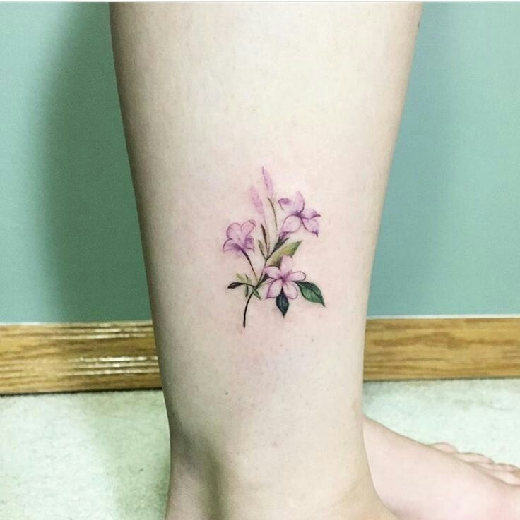 Jazmines Rosa Tatuaje De Jazmin Tatuaje Hamsa Tatuaje Tobillo Mujer