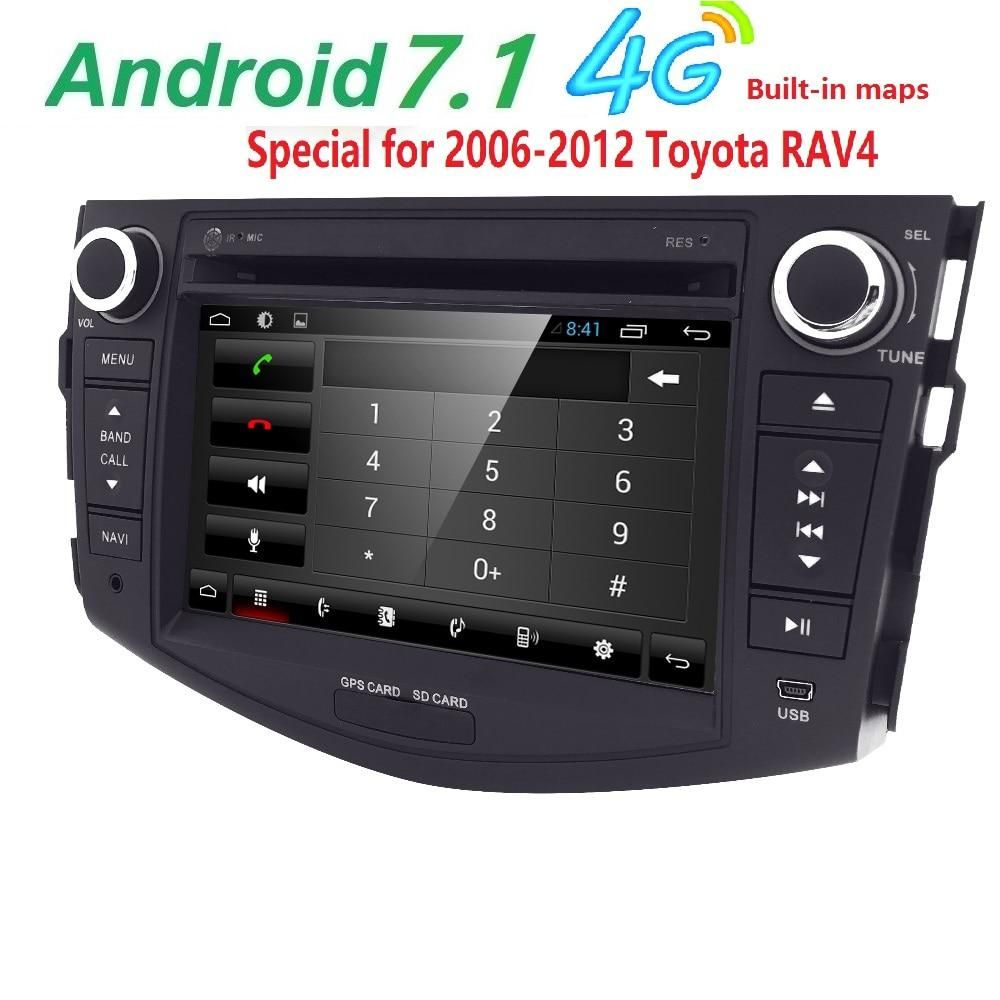 Quad Core 1024*600 HD Screen 2 Din Android 7 1 Car DVD for Toyota