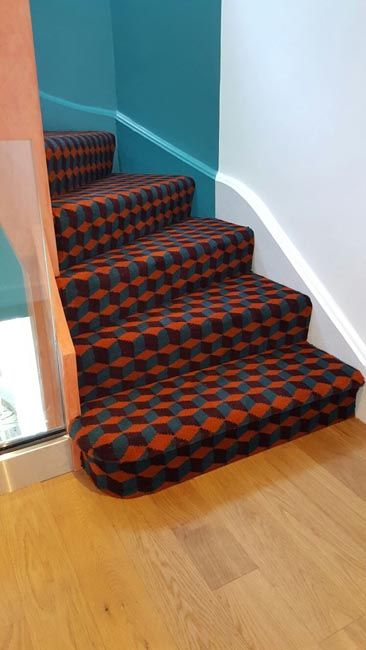 Best Stairs Funky Stairs Carpet By The Flooring Group 640 x 480