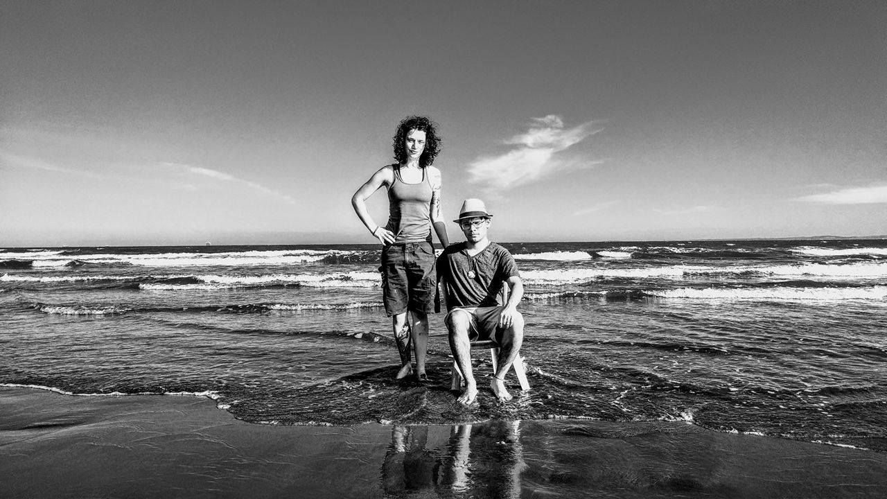 My wife and Myself. Veracruz Ver Mexico 2016