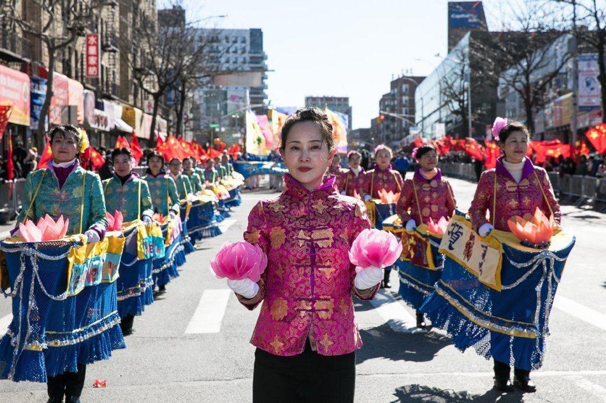 GRIDLOCK SAM Lunar New Year parade Sunday brings street