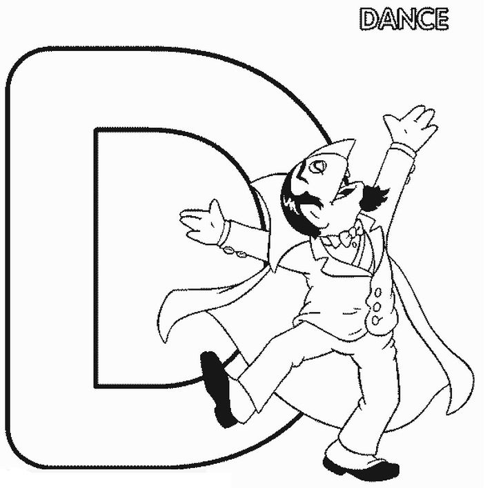 Pin By Coloring Fun On Sesame Street Alphabet Dance Coloring