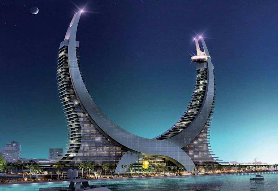 Lusail city in Qatar