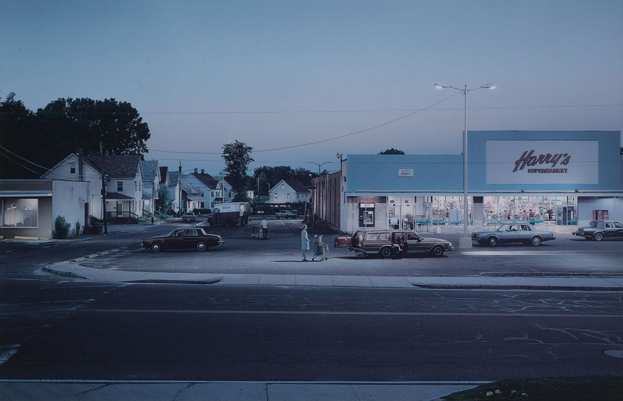 Gregory Crewdson// Im drawing inspiration from this image through the way Crewdson has chosen a place that is very formulae almost a 'non-place' of the supermarket carpark and the way Crewdson has created a stillness to the image, showing a moment of in between, as something has happened and something is about to occur. The timing draws forces to the image through the feeling of the unknown for the viewer…