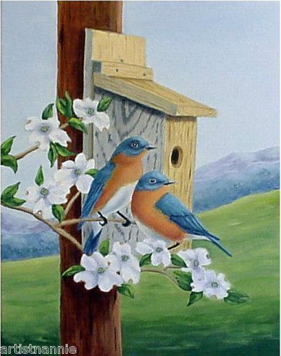 Country Birds And Flowers Paintings Google Search Birds Painting Painting Flower Painting