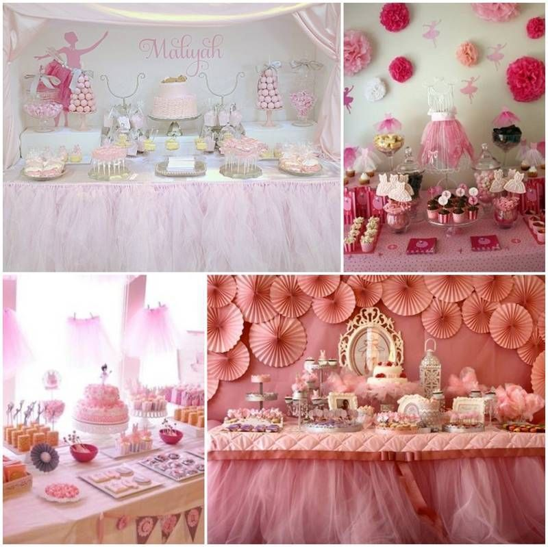 Decoracion de baby shower de bailarina heavenly pinterest - Decoracion baby shower nina sencillo ...