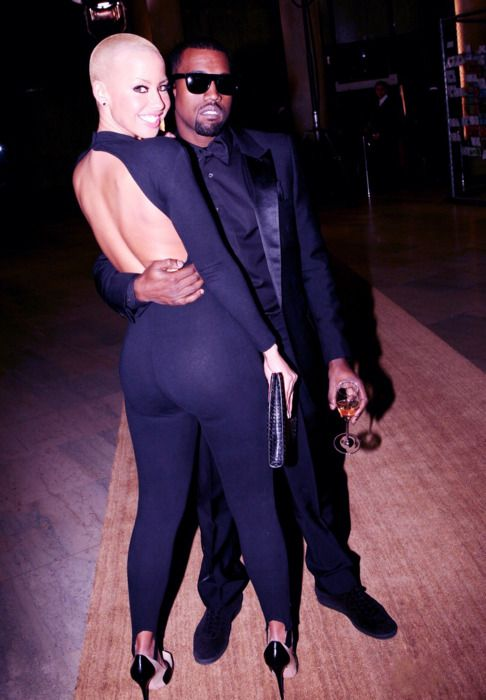 Kanye West And Amber Rose They Ended Up Here On The Technicality