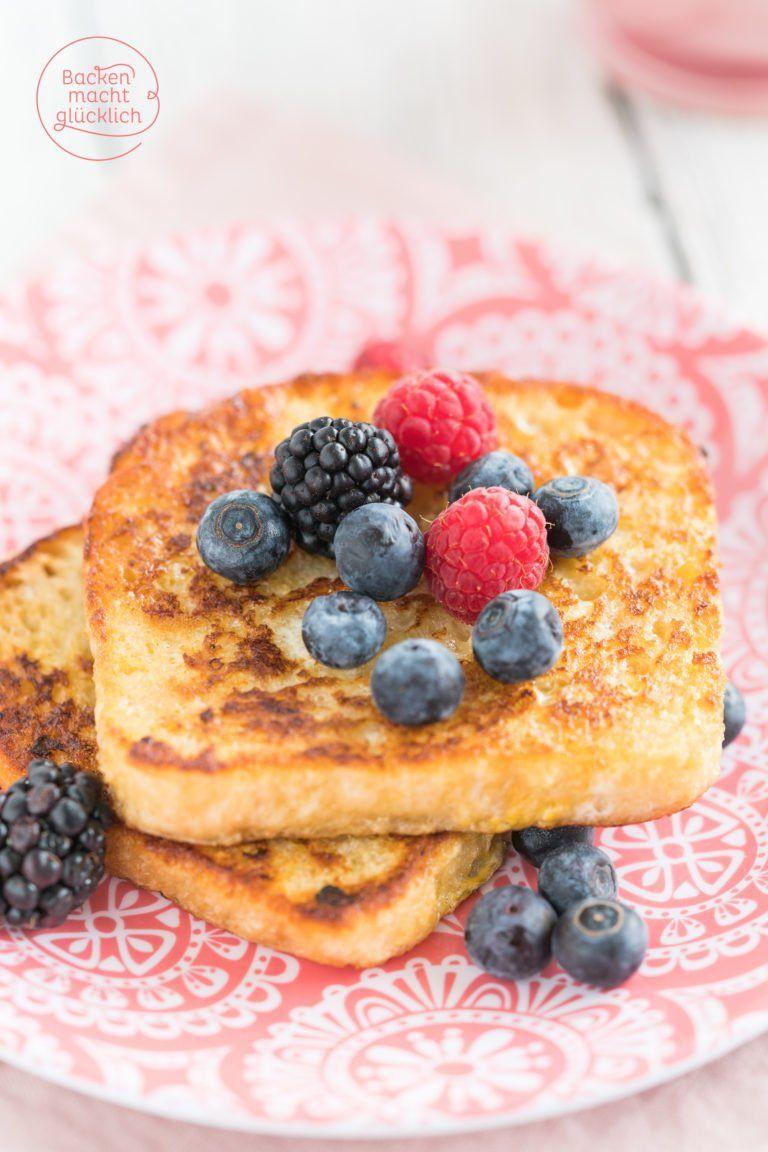 Einfache Arme Ritter (French Toast)   Backen macht glücklich