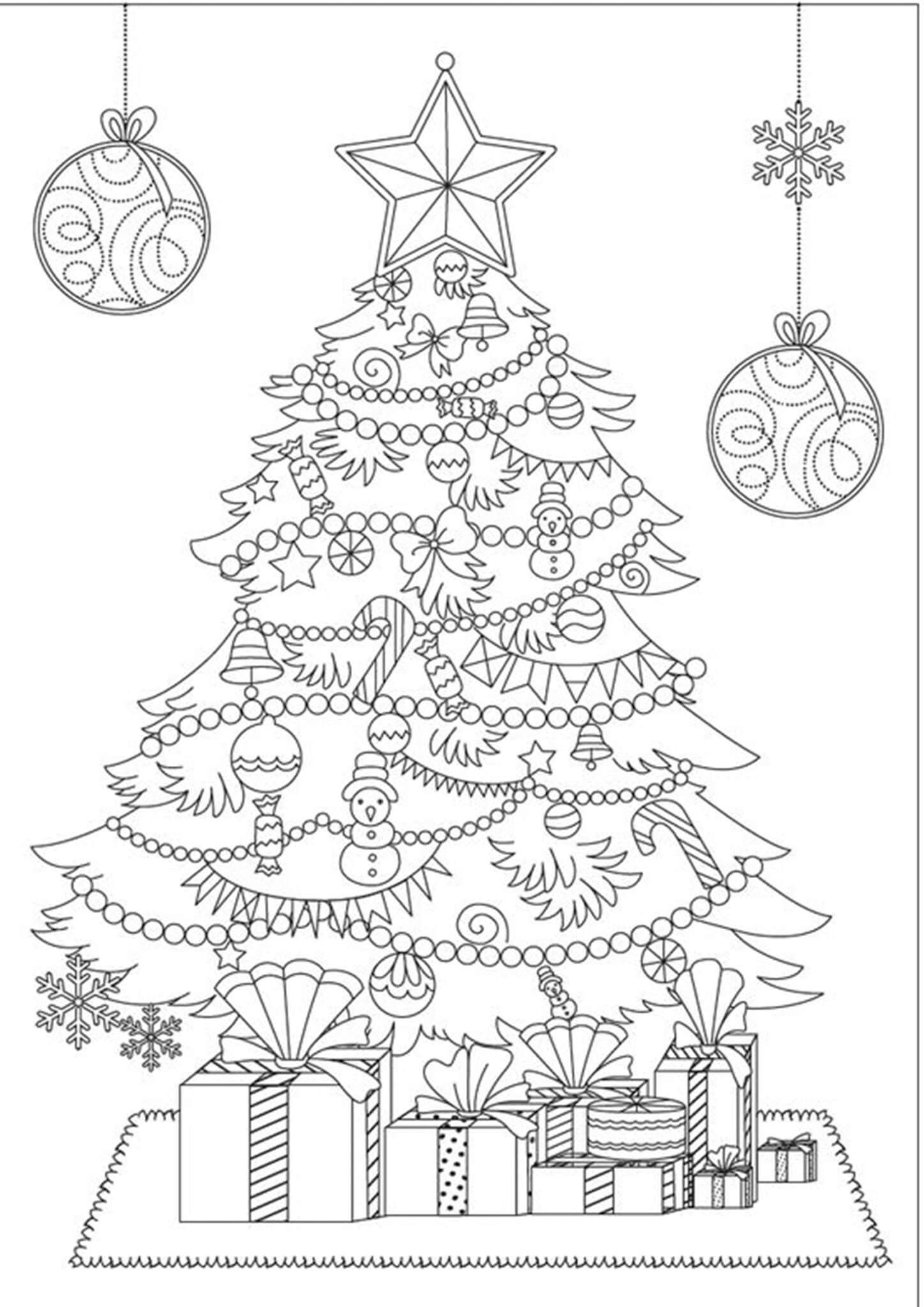 Pin On Christmas Color Pages