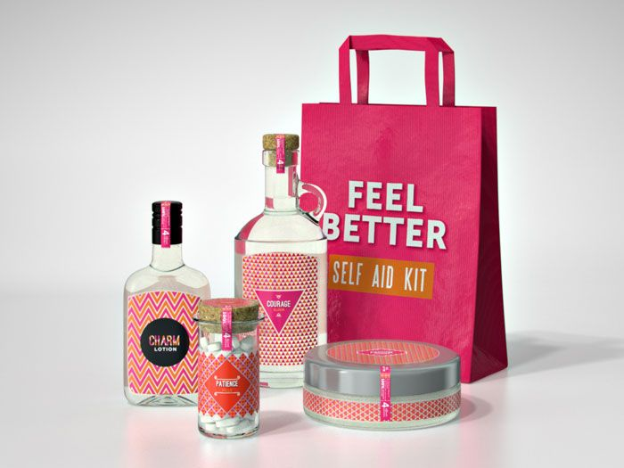 Designer Imagines A Kit That Gives People Better Personality | La fórmula mágica de la felicidad!