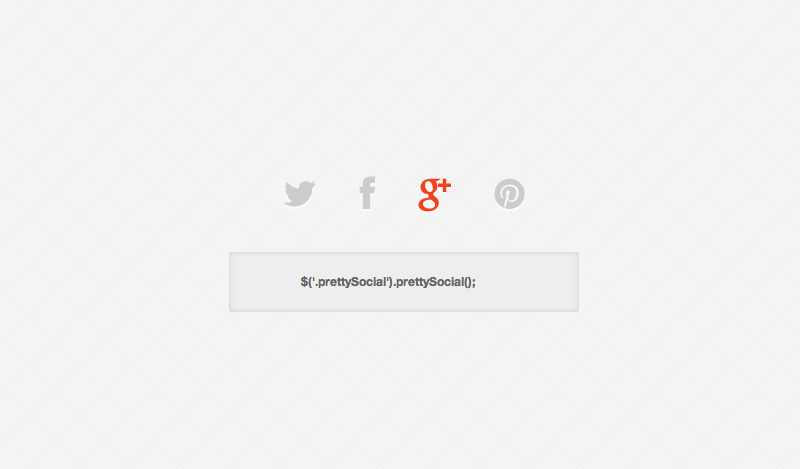 Hi thetre, Custom share buttons for Pinterest, Twitter, Facebook and Google Plus.
