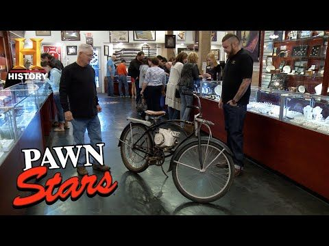 159323b3306 Pawn Stars: Shelby Bicycle with Motor (Season 12, Episode 20)   History -  YouTube