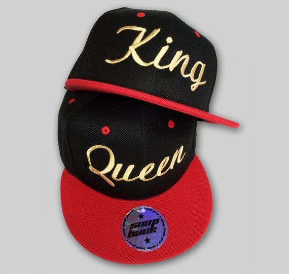 7fd25b8abd2 TWO SnapBacks for the price OF ONE! King   Queen summer caps