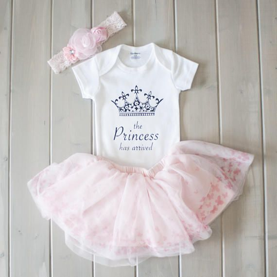 9dc697063dc10 Princess Has Arrived Onesie® Princess Baby Gift Cute Baby Clothes ...