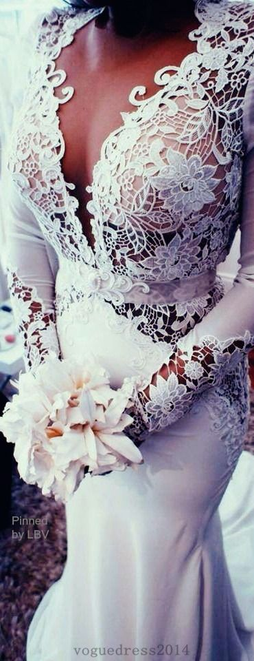 Lace #weddingdress