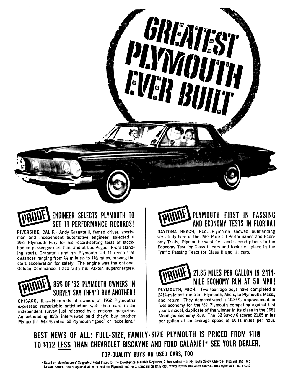 Plymouth Ad In