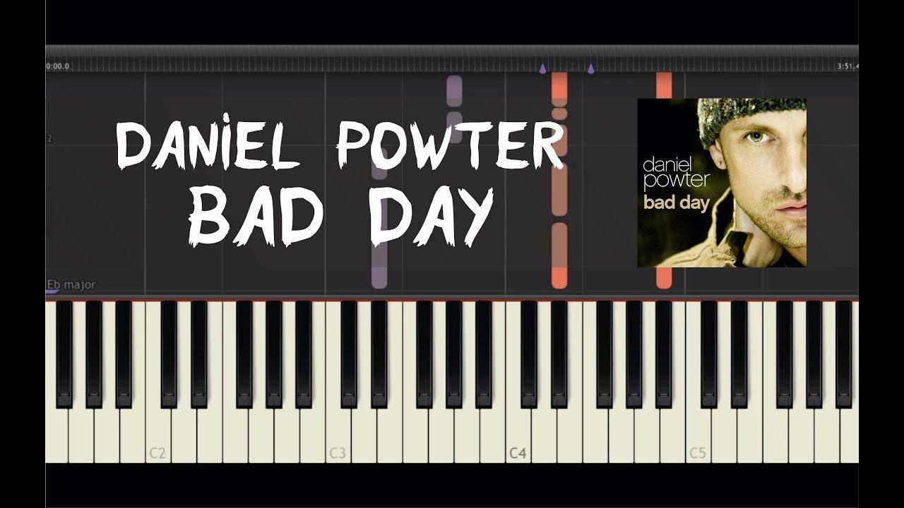 Daniel Powter Bad Day Piano Tutorial By Amadeus Synthesia Daniel Powter Bad Day Piano Tutorial Piano