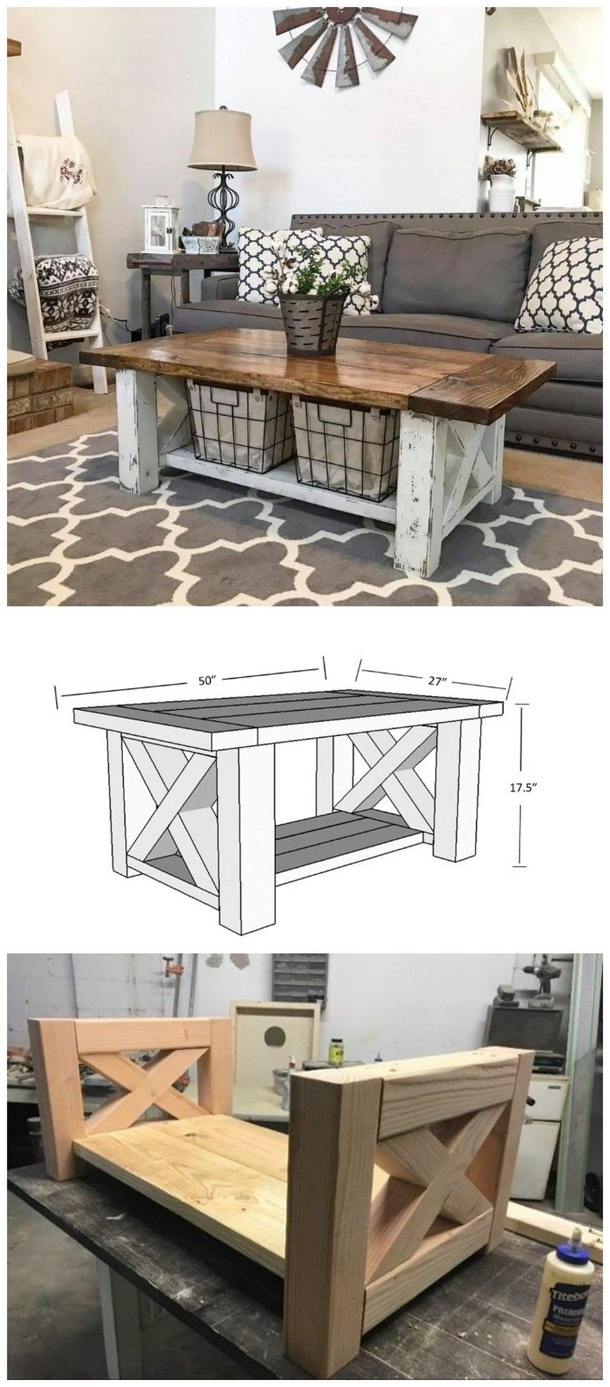 19++ Chunky farmhouse coffee table inspiration