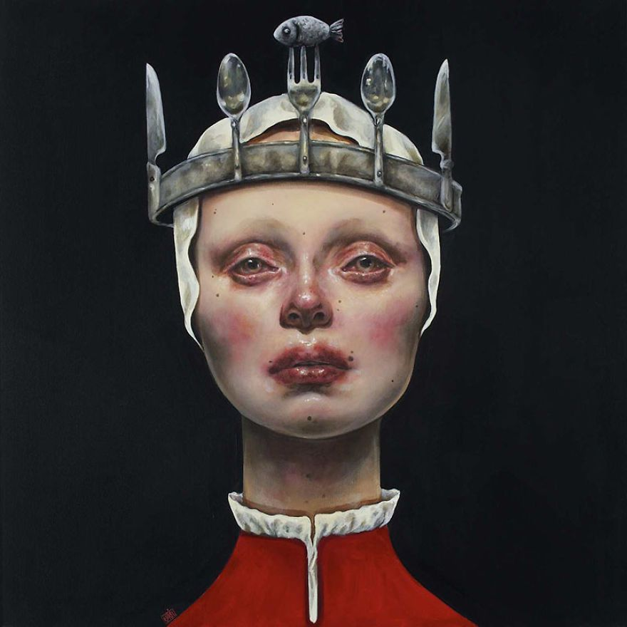 Surreal Portraits Of Women Painted By An Iranian Artist  Surreal Portraits Of Women Painted By An Iranian Artist  Bored Panda