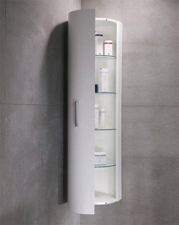 20 Corner Cabinets To Make A Clutter Free Bathroom E