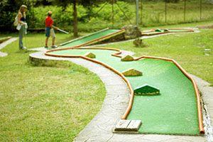 Backyard Golf Course Design image of backyard mini golf landscape How To Build An Indoor Mini Golf Course