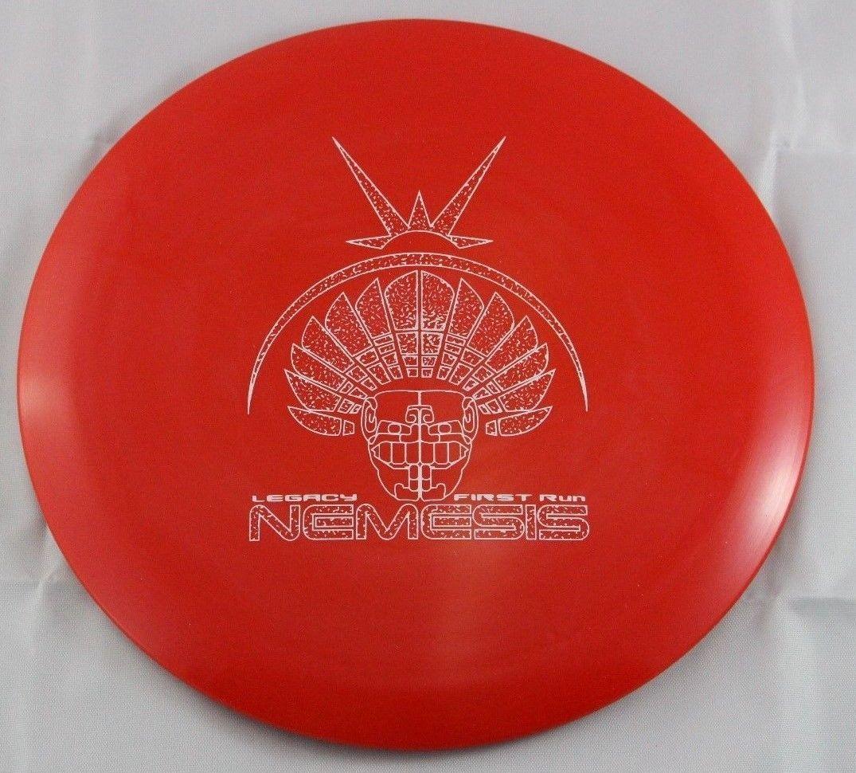 Icon Nemesis Driver 174g Legacy Discs Red First Run Disc Golf Disc