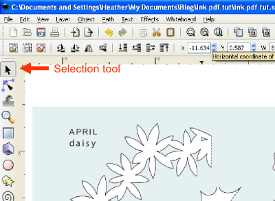 Using Inkscape To Convert Pdf Templates To Svg Inkscape