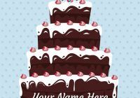 Happy Birthday Images With Cake And Name