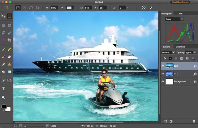 Free photo editor for mac