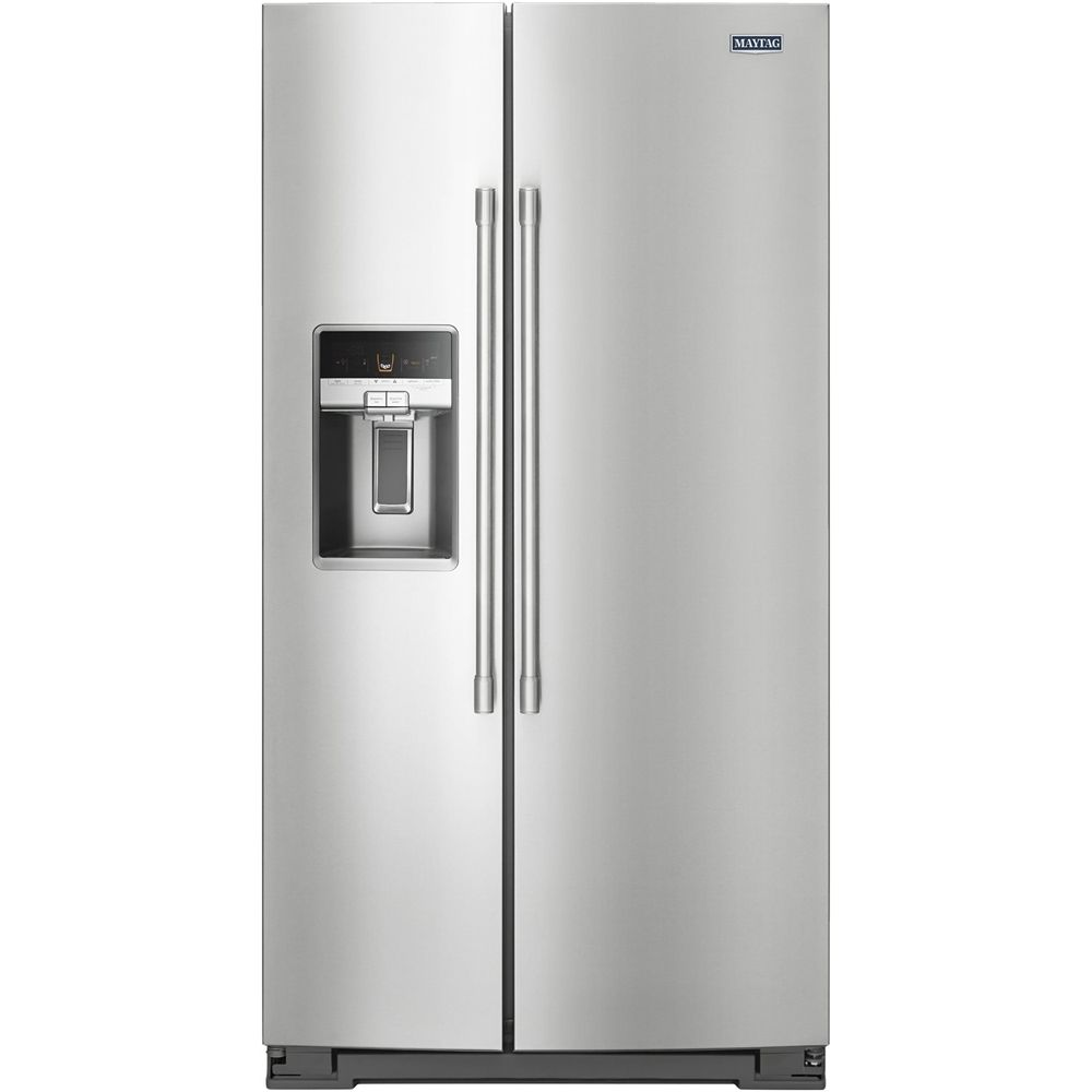 Maytag cu ft refrigerator silver fridge and products