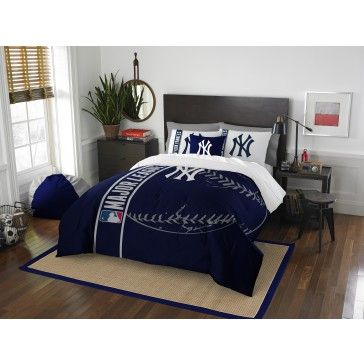 New York Yankees Mlb Comforter Set By The Northwest At