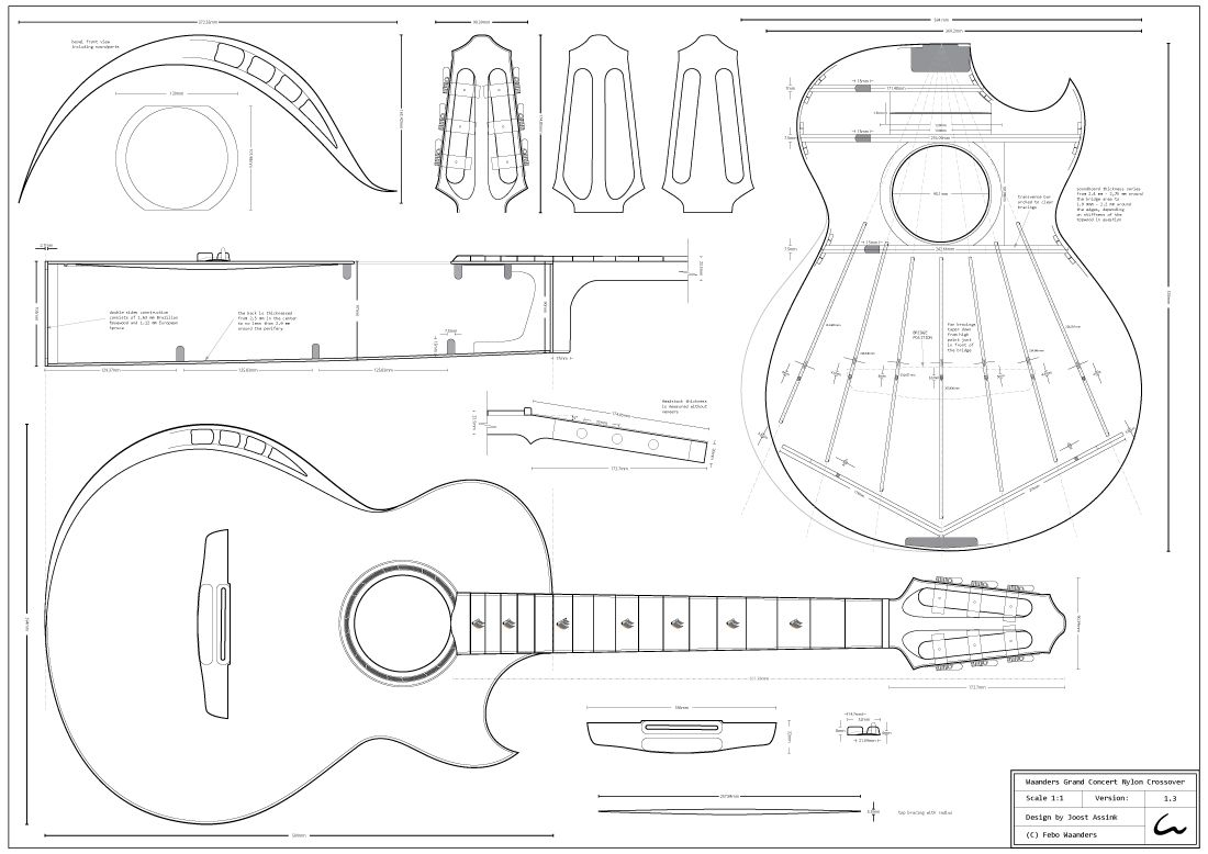Pin By Antedoroguitars On Guitar Plans