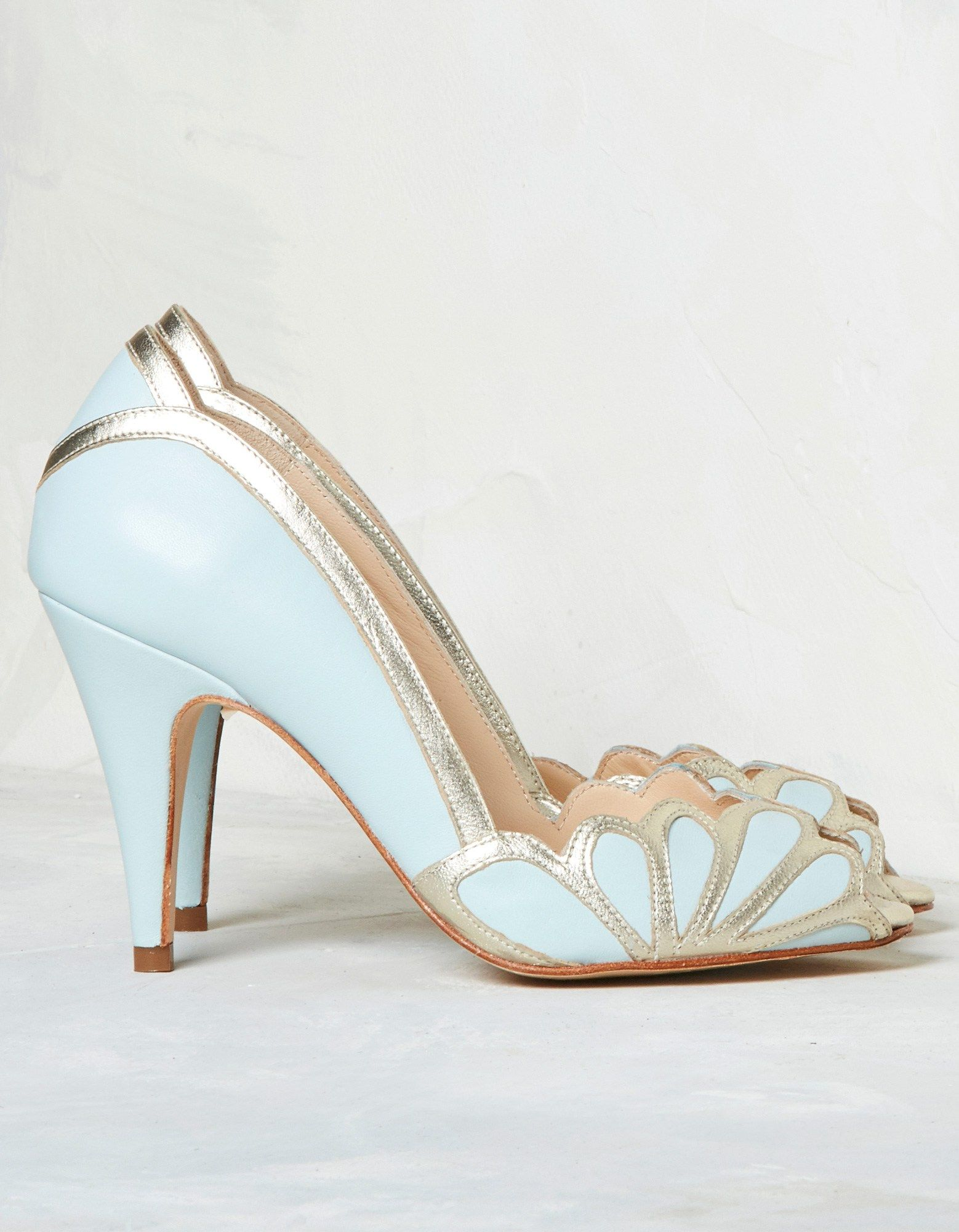 1c05c7a4935 Isabelle Ice Blue   Rachel Simpson Shoes. Available at www ...