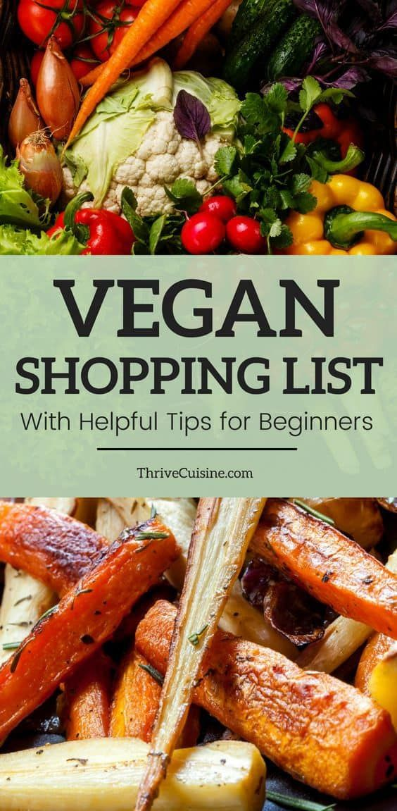Complete List of Vegan Foods You Can Buy at the Grocery