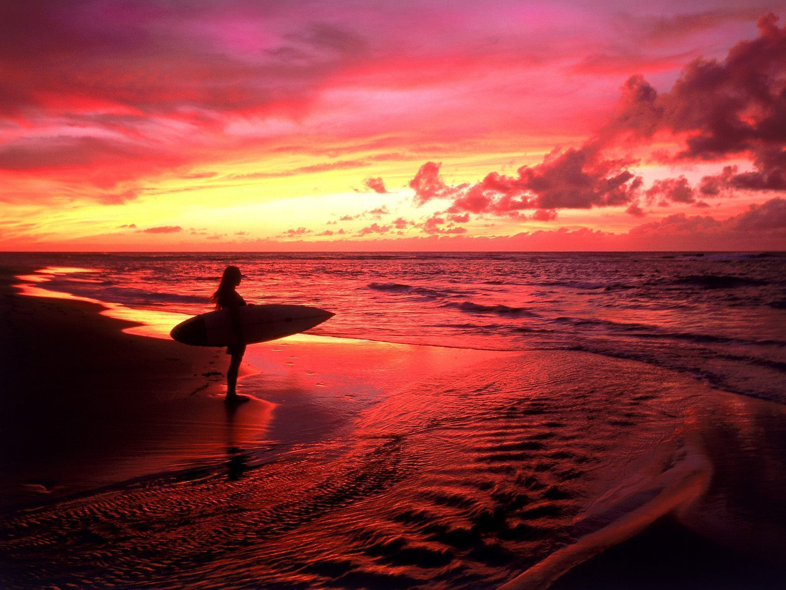 Arctic Surfers Sunset Images Hawaii Surf Beautiful Sunset
