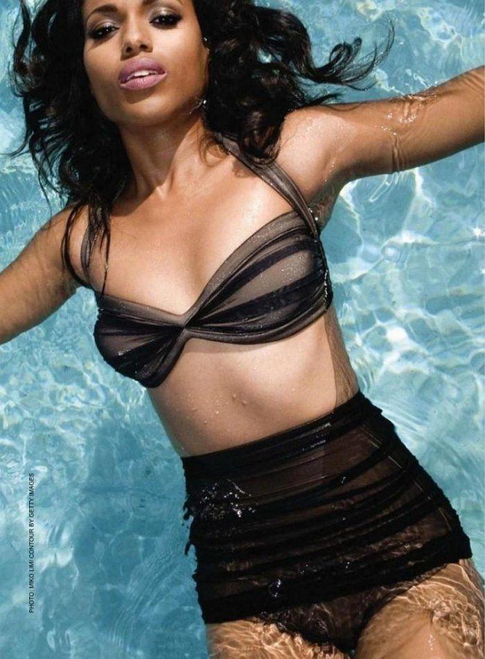Kerry washington bathing suit pics would